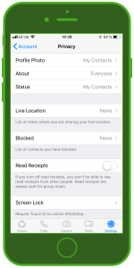 WhatsApp Update 2019 Touch ID Feature 4