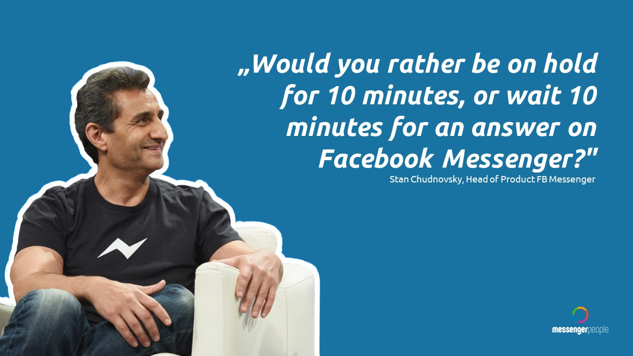 wait 10 minutes on the phone or rather on facebook messenger