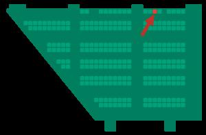 OMR Festival Hallenplan