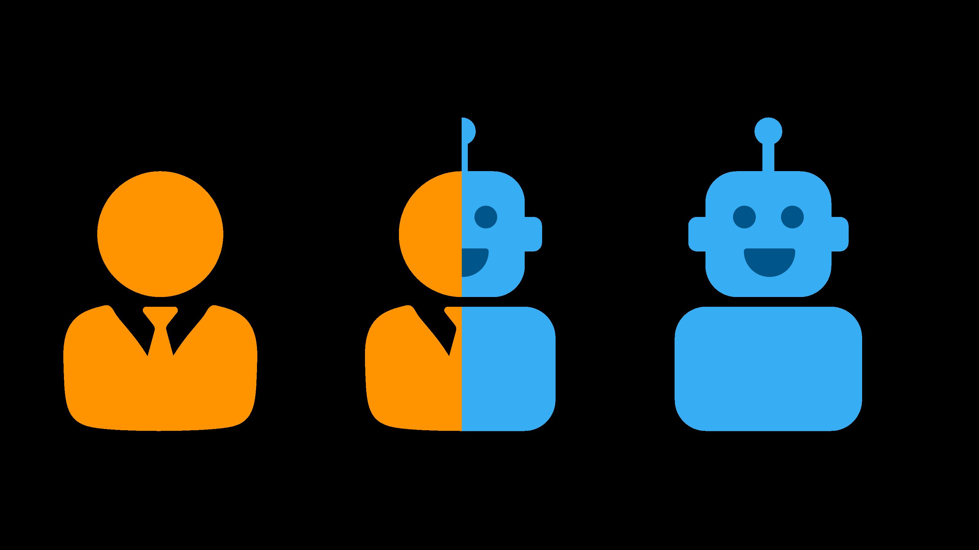 Human Chatbots Hybrid