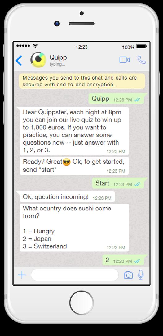 quipp whatsapp