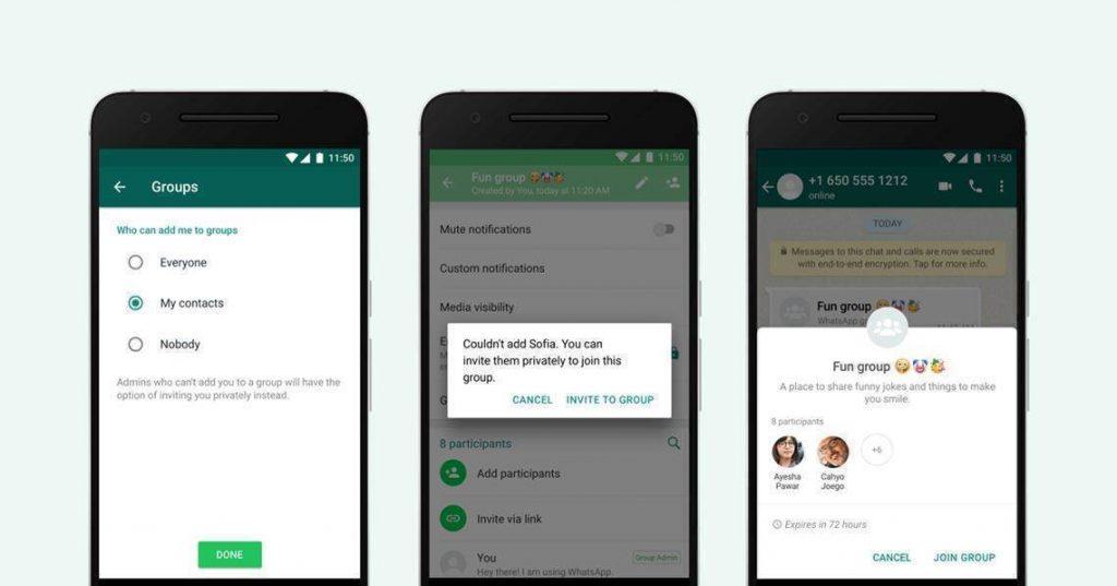 WhatsApp im Wahlkampf Neues Privacy Feature für Gruppen