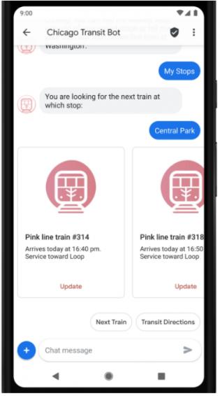 chicago-transit-bot-rcs-google-messenge