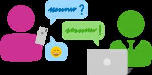 Kundenservice mit Messenger