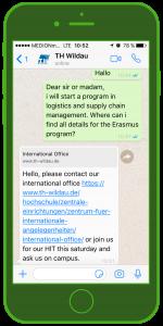 Bildungseinrichtungen-Messenger-kommunikation-Technische-Hochschule-Wildau