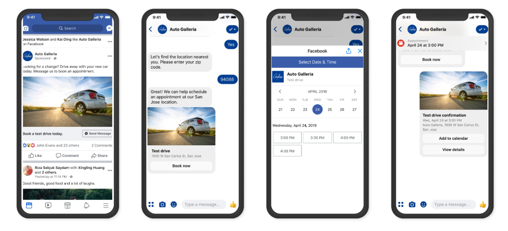 facebook-messenger-update-2019-lead-ads-booking-appointment