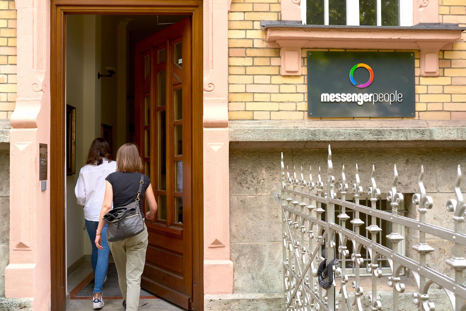 MessengerPeople Eingang