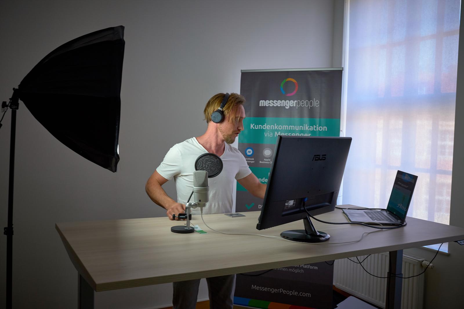 MessengerPeople Studio