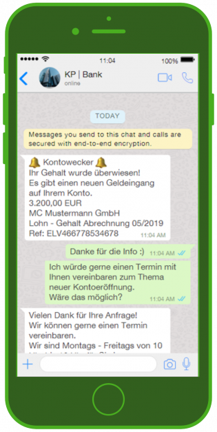 banken-messenger-kundenservice-whatsapp-notification-finanz-update-nachricht