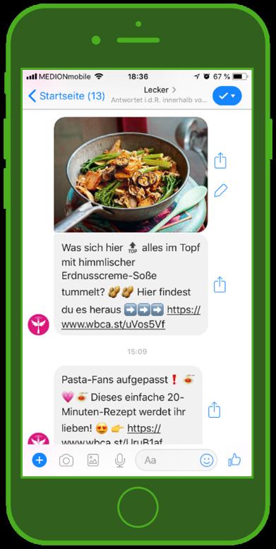 Facebook Messenger Newsletter