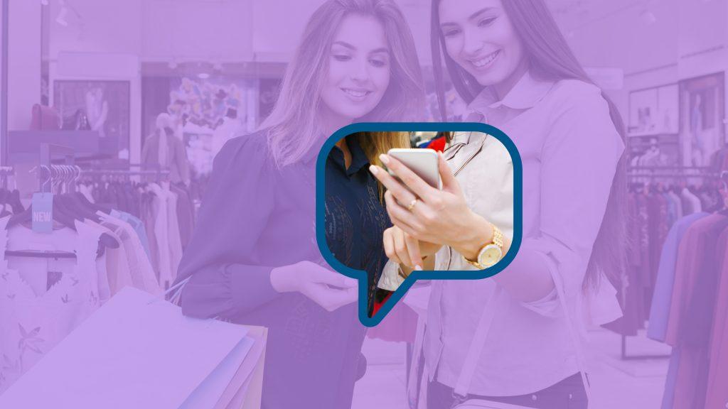 Einzelhandel-Messenger-Kundenservice