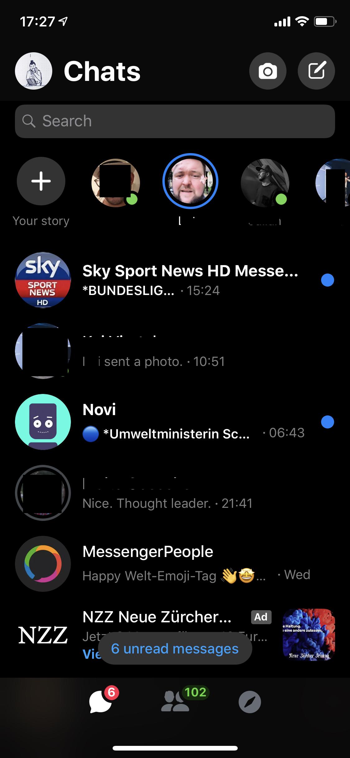 Messenger grauer facebook was haken bei bedeutet Facebook Messenger