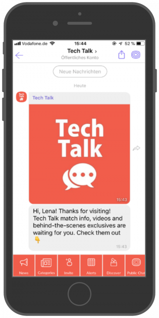 Tech Talk Chat viber