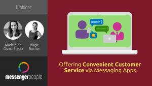 convenient customer service