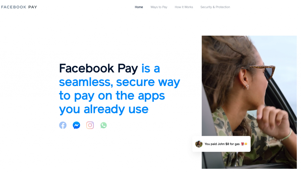 Facebook Pay - Facebook Messenger Update