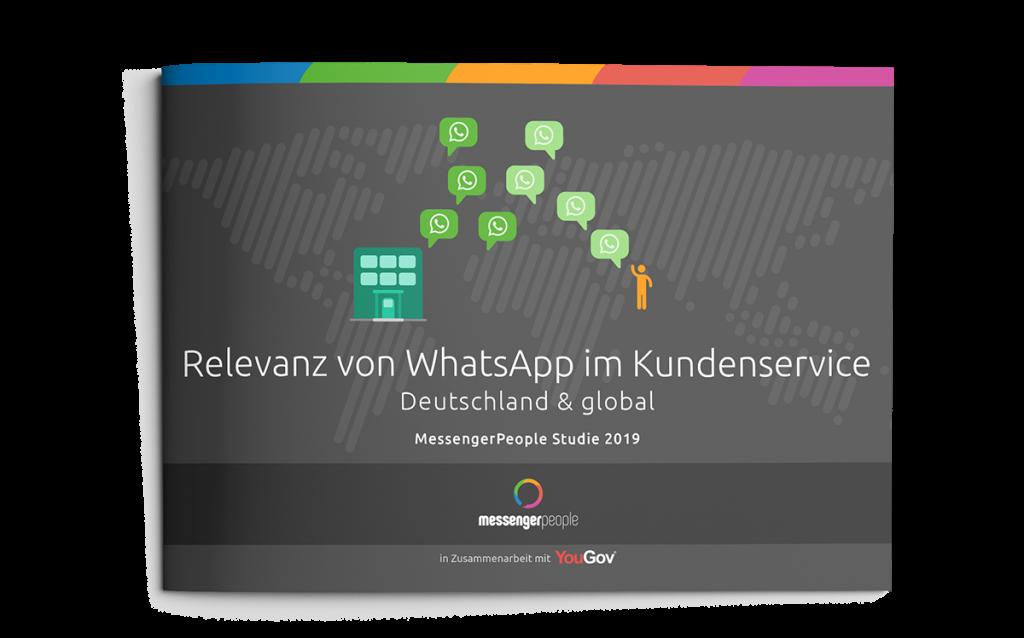 MessengerPeople Relevanz von WhatsApp im Kundenservice