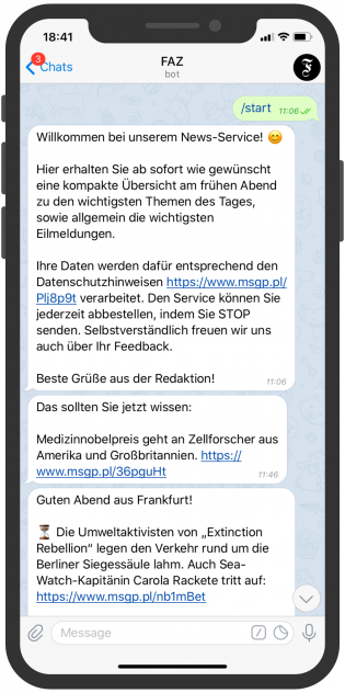 messenger-newsletter-Telegram-Messenger-Newsletter-FAZ