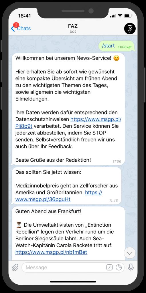Telegram-Messenger-Newsletter-FAZ