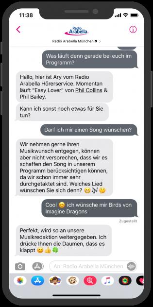 Radio-Arabella-Apple-Business-Chat-2