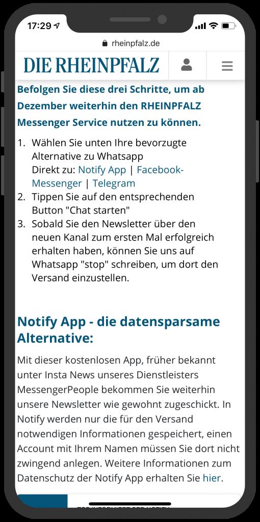 messenger-newsletter-landingpage-rheinpfalz-1