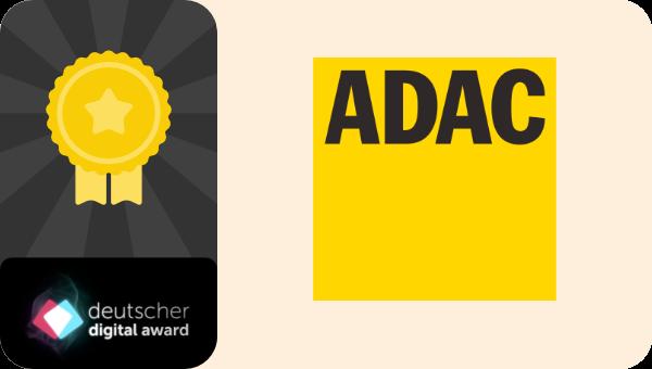 ADAC gewinnt Deutscher Digital Award