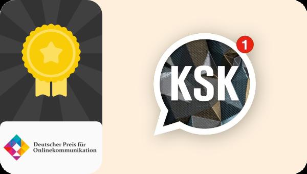 KSK gewinnt Deutscher Preis für Onlinekommunikation