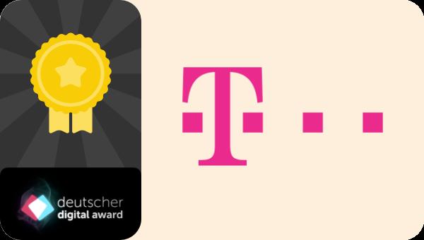 Telekom gewinnt Deutscher Digital Award