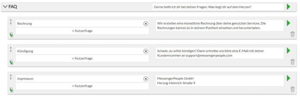 Messenger Communication Platform - Chatbot Builder