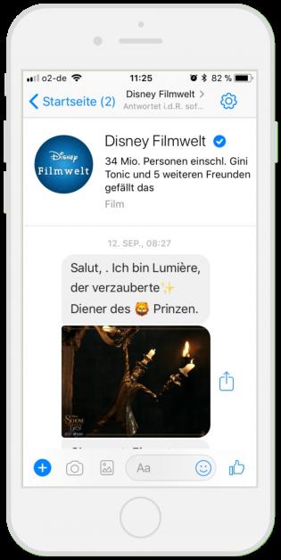 Branchen-Chatbots-Disney-Filmwelt
