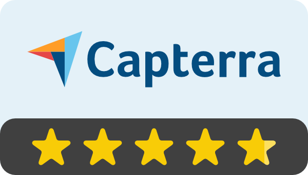 Rated on Capterra