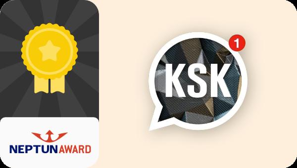 Ksk wins Neptun Award 2019
