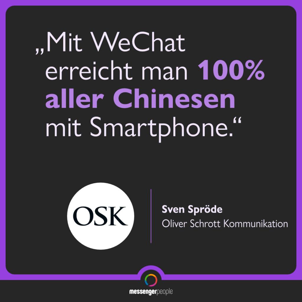 WeChat Nutzerzahlen China