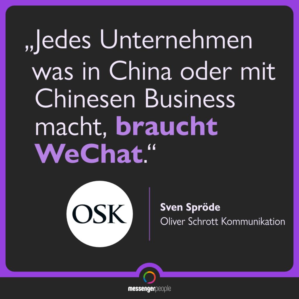 WeChat für Unternehmen