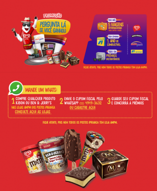 Lebensmittel-messenger-ampm-brasilien-kassenbon-whatsapp-gewinnspiel