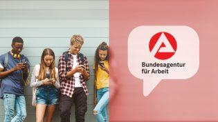 Bundesagentur für Arbeit WhatsMeBot Berufsberatung mit WhatsApp