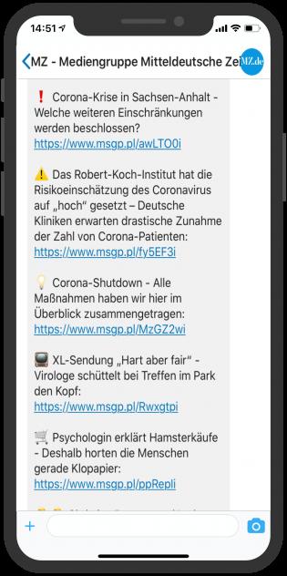 messenger-newsletter-device-mz-mediengruppe-mitteldeutsche-zeitung-notify-krisenkommunikation