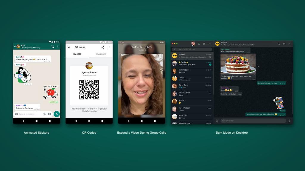 wahtsapp-update-stickers-qr-codes-video-darkmode
