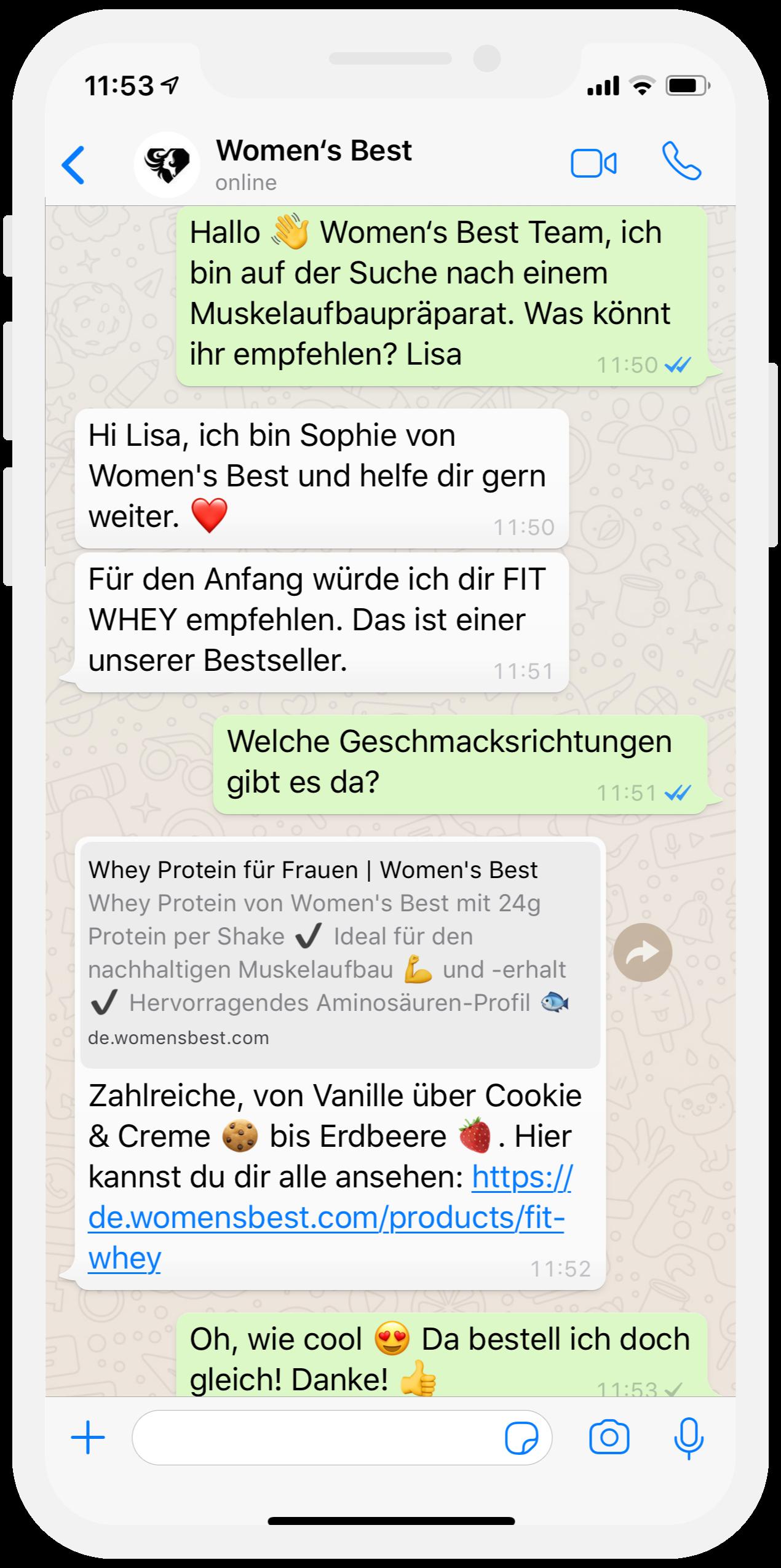 Nr von frauen whatsapp Whatsapp