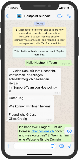 telekommunikation-messenger-device-hostpoint-support-whatsapp-api-1