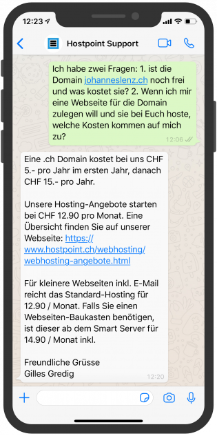 telekommunikation-messenger-device-hostpoint-support-whatsapp-api-2