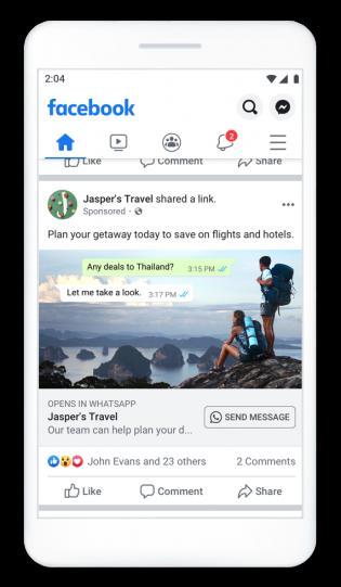 Click to WhatsApp Ads