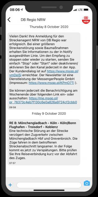 Notify Screenshot device - DB