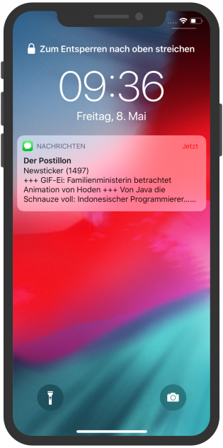 Der Postillon Notification