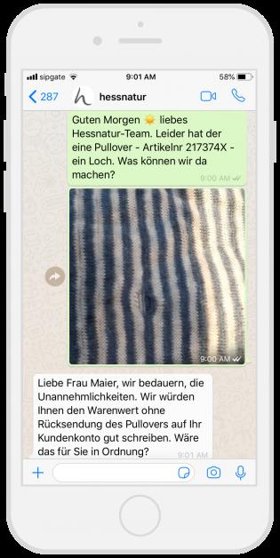 whatsapp-kundenservice-hessnatur
