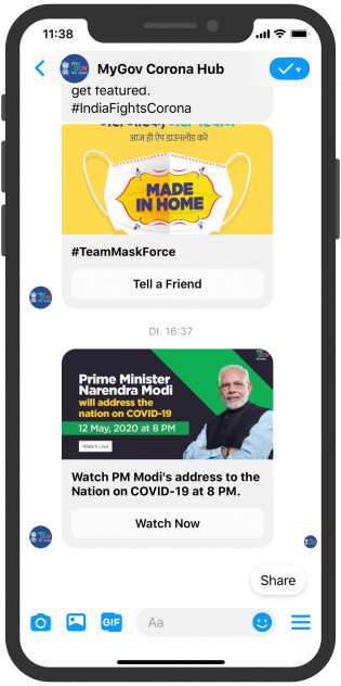 mygov-corona-hub_india-goi_facebook-messenger-push-notification