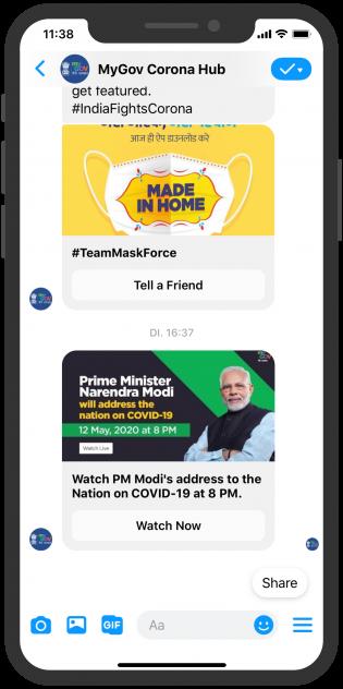 mygov-corona-hub_india-goi_facebook-messenger-push-notification