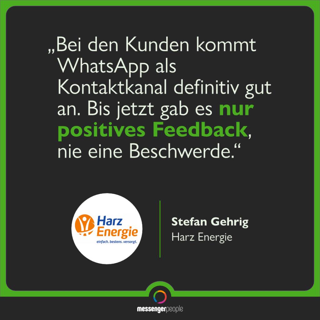 Stadtwerke WhatsApp