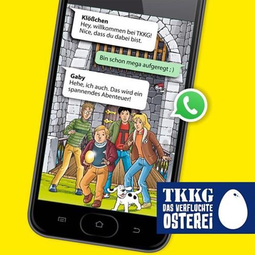 TKKG WhatsApp Rätsel