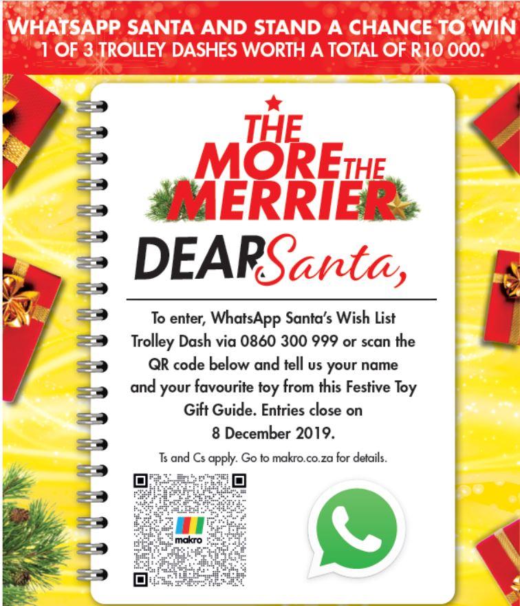 Dear Santa martketing Kampagne Weihnachten