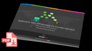 Studie Relevanz von WhatsApp im Kundenservice